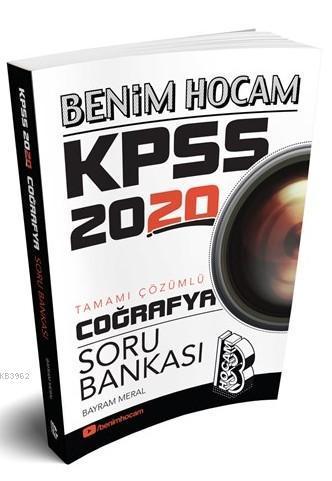 2020 KPSS Coğrafya Tamamı Çözümlü Soru Bankası Benim Hocam Yayınları