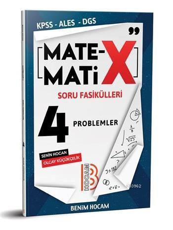 2020 KPSS ALES DGS TYT Matematix Soru Fasikülleri-4 Benim Hocam Yayınları