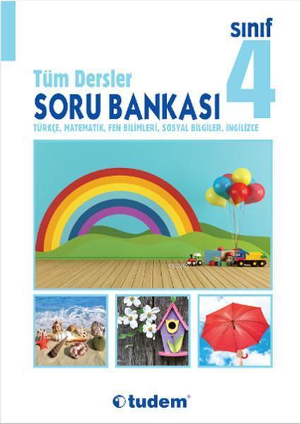 Tudem Yayınları 4. Sınıf Tüm Dersler Soru Bankası Tudem