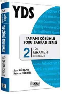YDS Tamamı Çözümlü Soru Bankası Serisi 2; Tüm Gramer Konuları