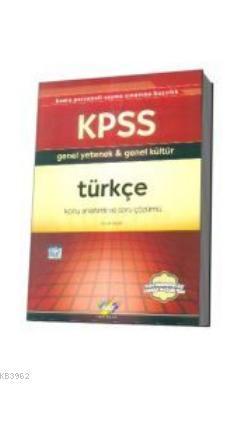KPSS Türkçe Konu Anlatımlı ve Soru Çözümlü