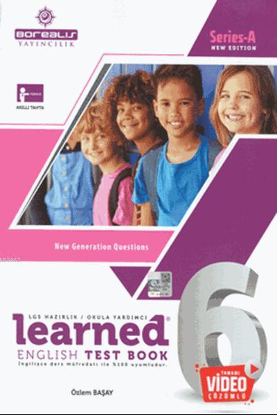 Learned English Test Book 6; 6. Sınıf Series - A New Edition