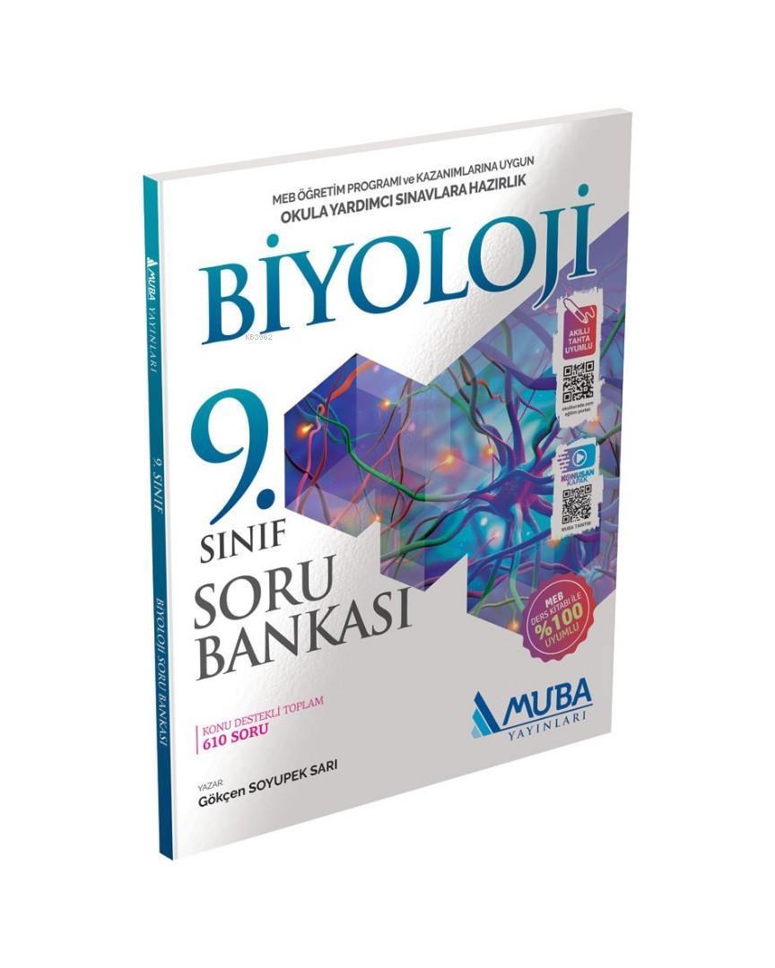 Muba Yayınları 9. Sınıf Biyoloji Soru Bankası Muba