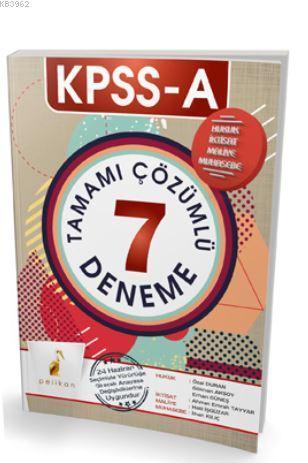 KPSS A Grubu Tamamı Çözümlü 7 Deneme 2017