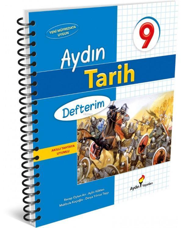 Aydın Yayınları 9. Sınıf Tarih Defterim Aydın