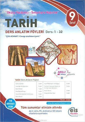 EİS Yayınları 9. Sınıf Tarih Ders Anlatım Föyleri EİS