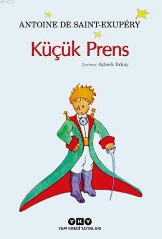 Küçük Prens (8-12 Yaş); Yazarın Kendi Suluboya Resimleriyle