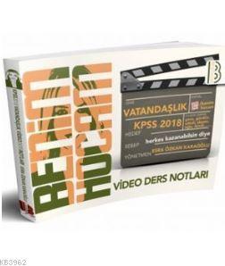 2018 KPSS Vatandaşlık Video Ders Notları