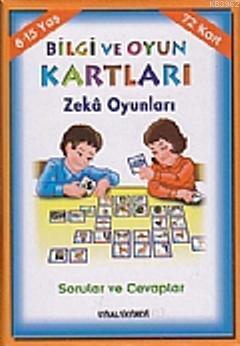 Bilgi ve Oyun Kartları Zeka Oyunları (8-15 Yaş) & Sorular ve Cevaplar
