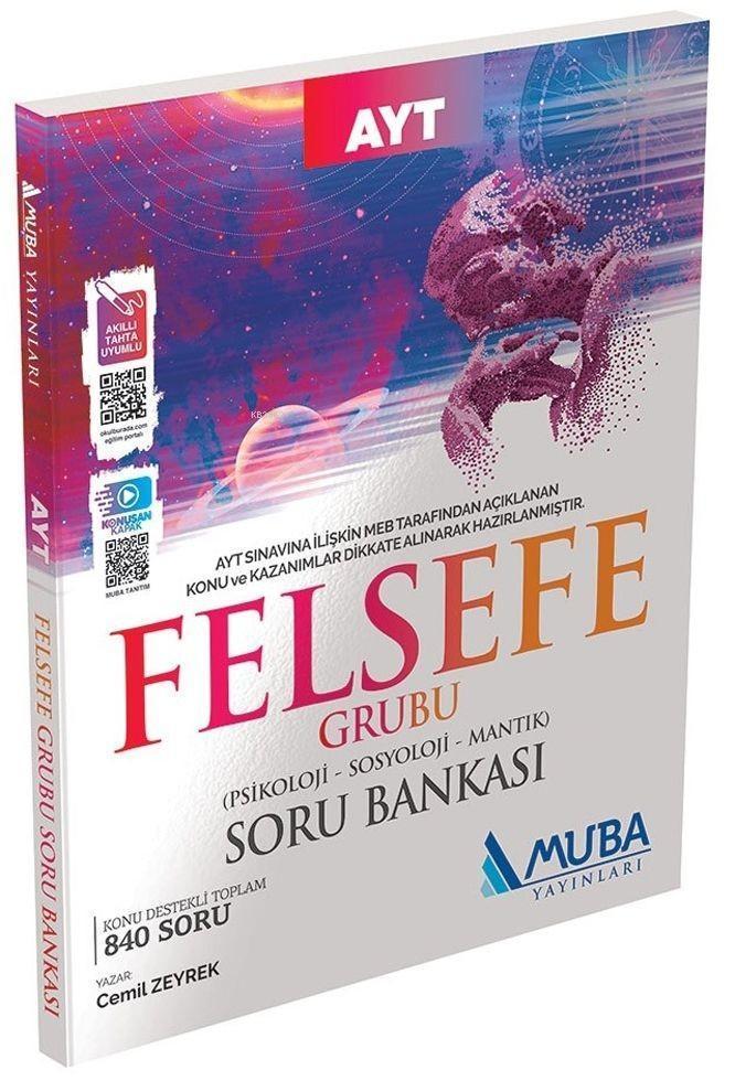 Muba Yayınları AYT Felsefe Grubu Soru Bankası Muba