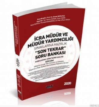 İcra Müdür ve Müdür Yardımcılığı Son Tekrar Soru Bankası Savaş Yayınları 2020