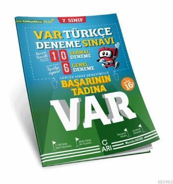 7. Sınıf Türkçe Var Deneme Sınavı Arı Yayıncılık