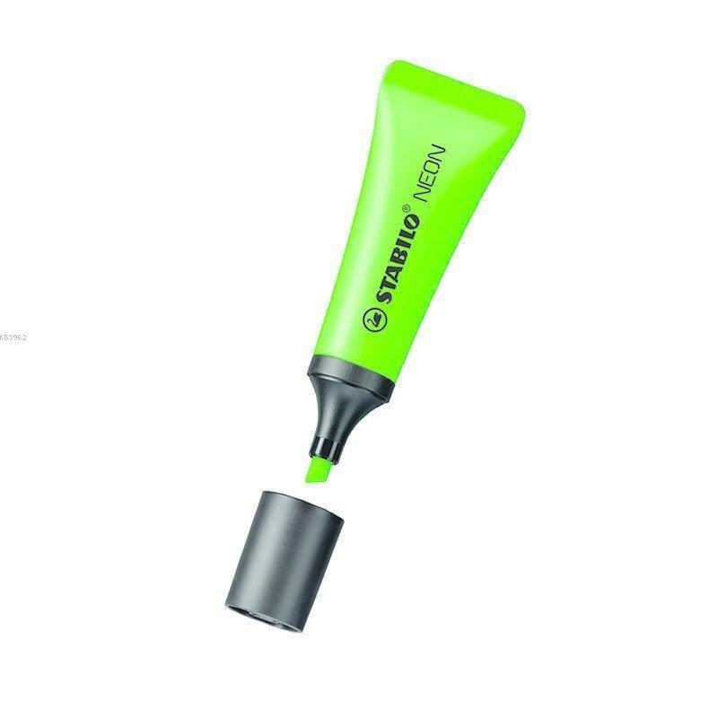 Stabilo Neon Fosforlu Yeşil