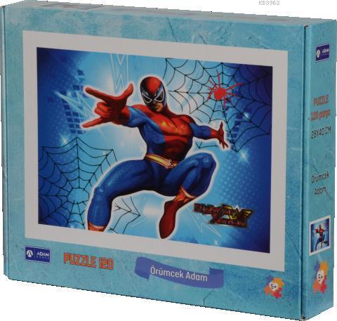 Adam Games Örümcek Adam 120 Parça Puzzle 28x40