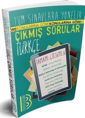 Tüm Sınavlara Yönelik Türkçe Tamamı Çözümlü Çıkmış Sorular