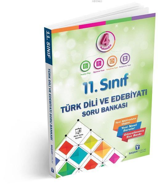 Başarıyorum Yayınları 11. Sınıf 4 Adımda Türk Dili Ve Edebiyatı Soru Bankası Başarıyorum