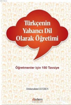 Türkçenin Yabancı Dil Olarak Öğretimi