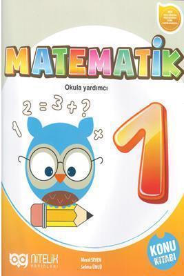 Nitelik Yayınları 1.Sınıf Matematik Konu Kitabı