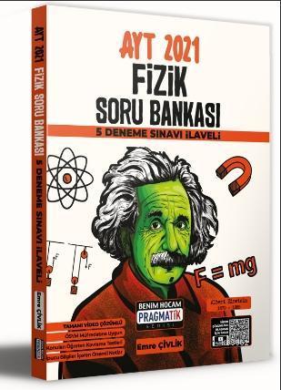 2021 AYT Fizik Soru Bankası 5 Deneme Sınavı İlaveli Pragmatik Serisi