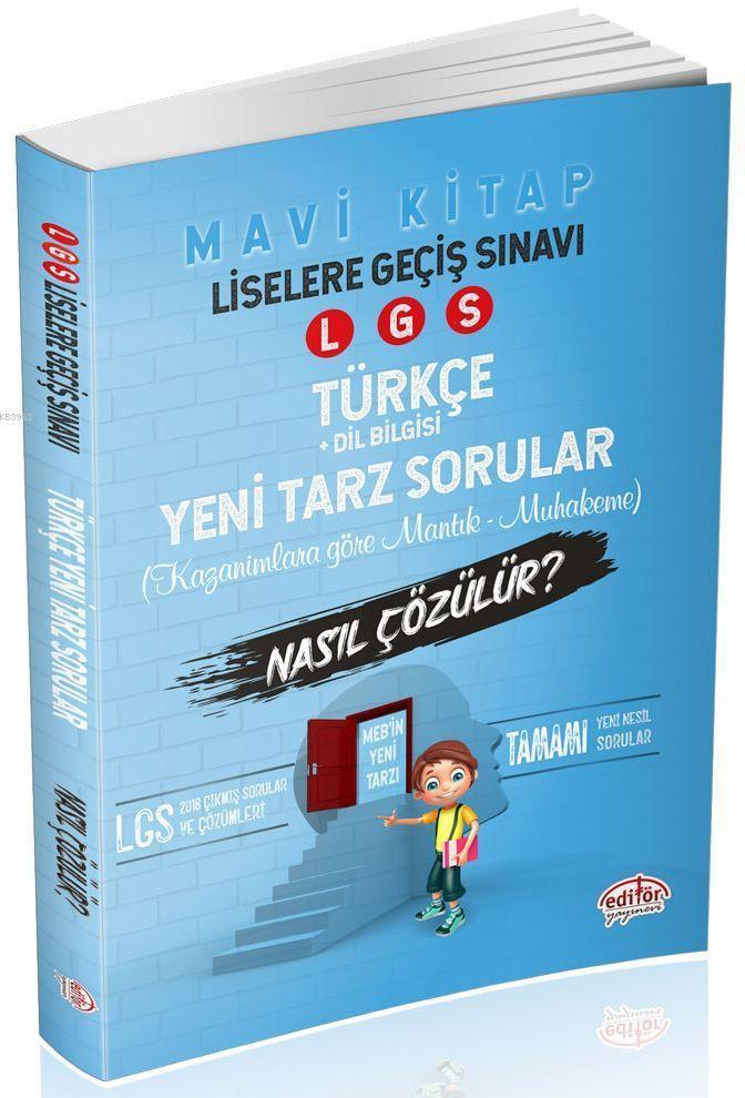 LGS Türkçe Mantık Muhakeme Soruları Nasıl Çözülür? Mavi Kitap