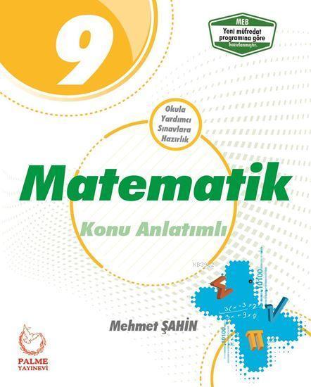 Palme Yayınları 9. Sınıf Matematik Konu Anlatımlı Palme