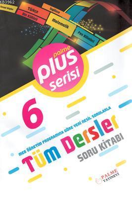 Palme Yayınları 6. Sınıf Tüm Dersler Plus Serisi Soru Kitabı Palme