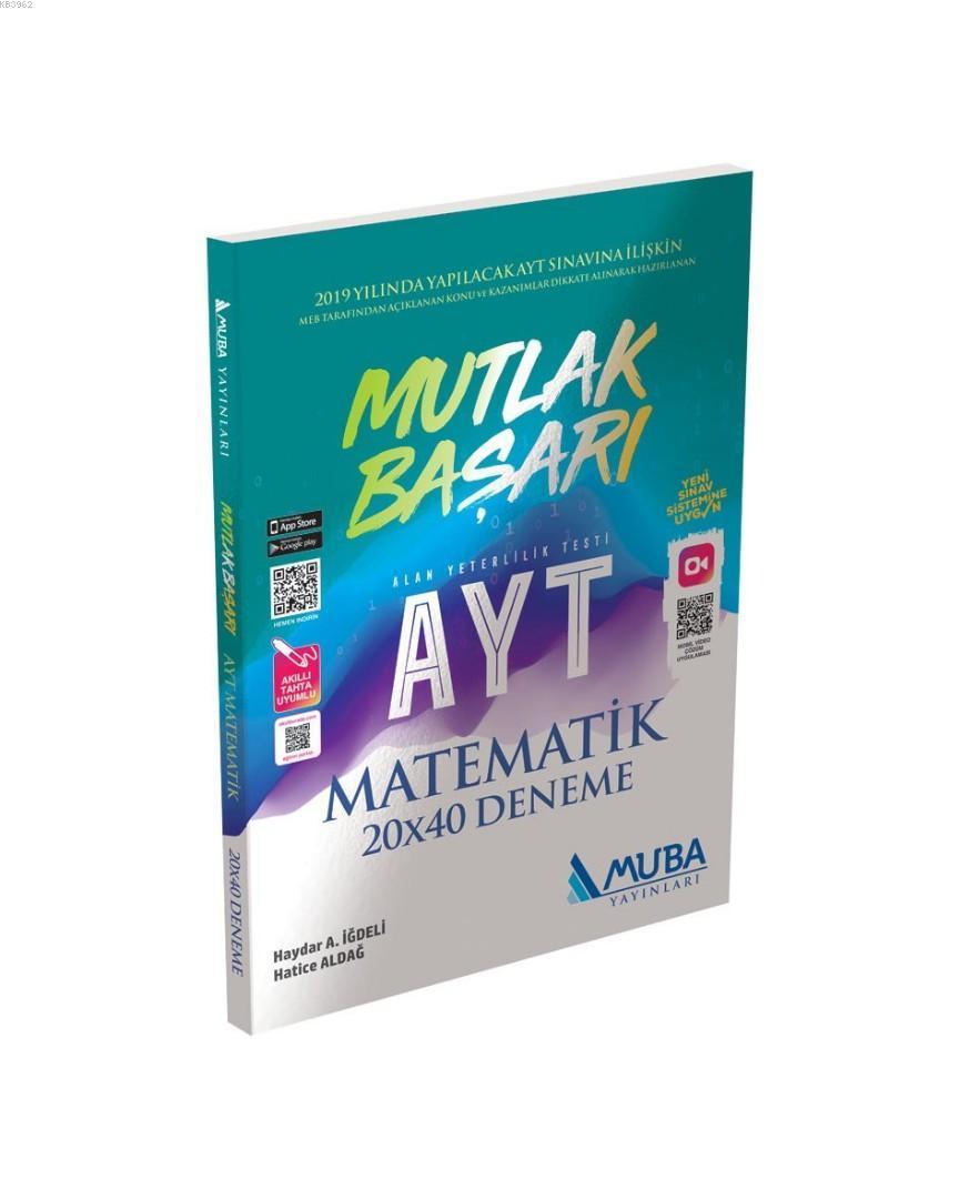 Muba Yayınları AYT Matematik Mutlak Başarı 20x40 Deneme Muba
