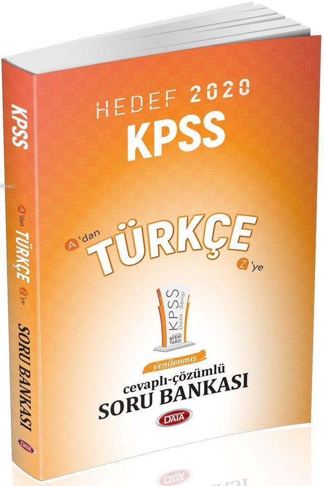 Data Yayınları KPSS Türkçe Soru Bankası