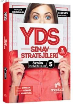 Modadil YDS Sınav Stratejileri 5 - Özgün Denemeler