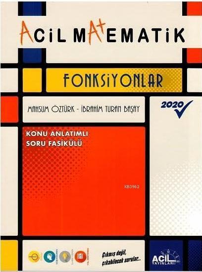 TYT Matematik Acil Fonksiyonlar Acil Yayınları