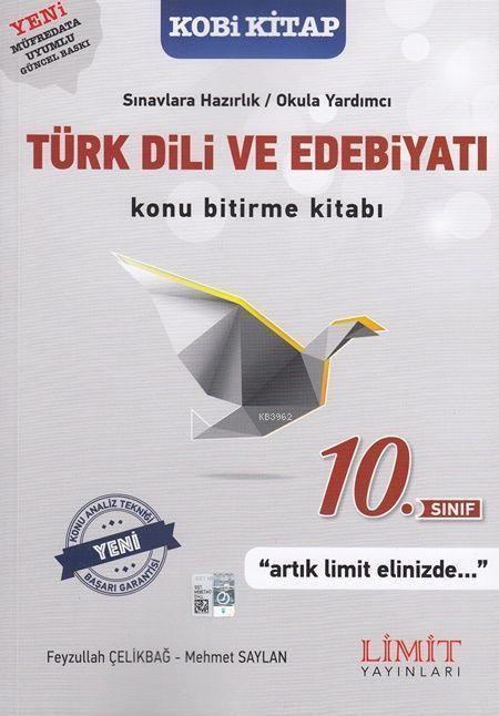 Limit Yayınları 10. Sınıf Türk Dili ve Edebiyatı Konu Bitirme Kitabı Limit