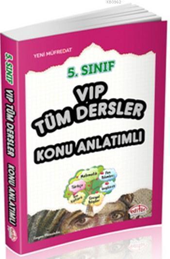 5. Sınıf VIP Tüm Dersler Konu Anlatımlı