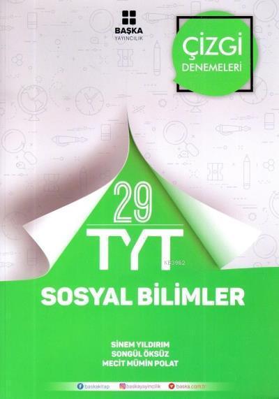 TYT Sosyal Bilimler 29 Çizgi Denemeleri