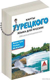 Delta Kültür Yayınları Ruslar için Türkçe Dil Kartları Delta Kültür