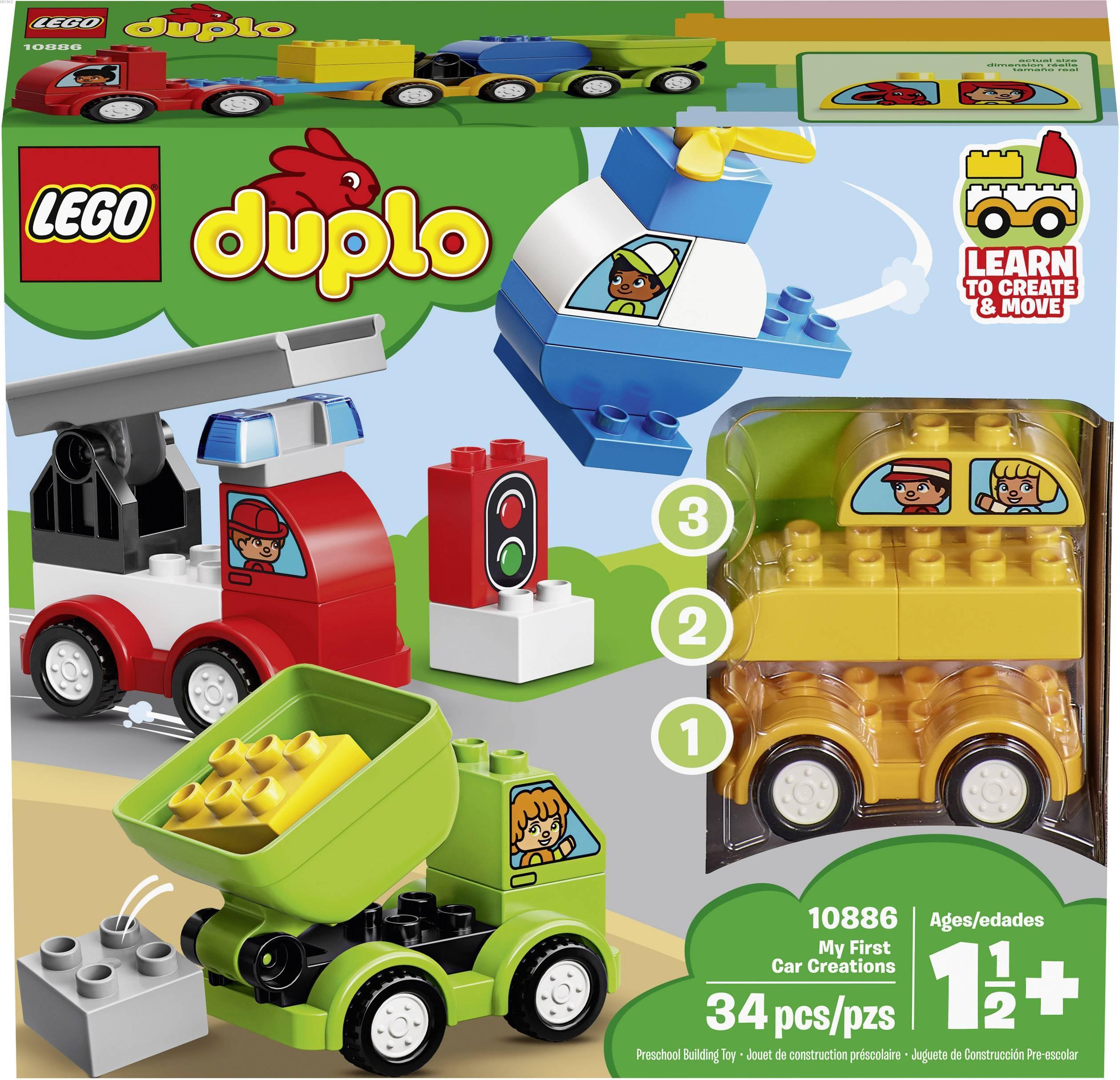 Lego Duplo 10886 İlk Araba Tasarımlarım