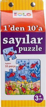1'den 10'a Sayılar Puzzle