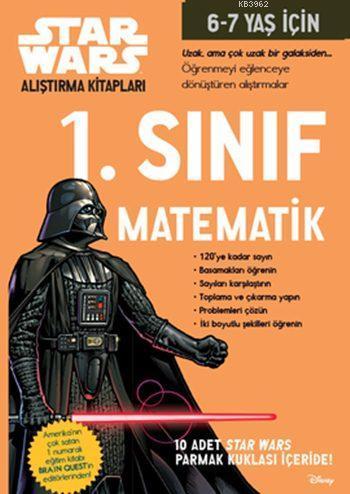 Starwars Alıştırma Kitapları - 1. Sınıf Matematik