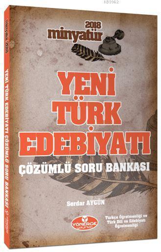 Yeni Türk Edebiyatı Tamamı Çözümlü Soru Bankası
