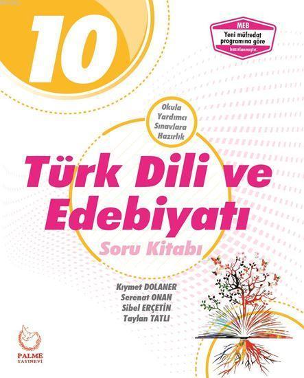 10. Sınıf Türk Dili ve Edebiyatı Soru Kitabı YENİ
