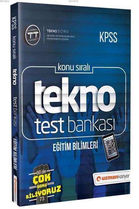 2019 KPSS Eğitim Bilimleri Tekno Test Bankası; Dijital Çözümlü