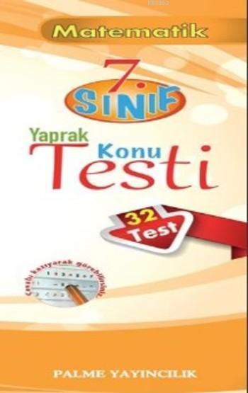 7.Sınıf Matematik Yaprak Konu Testi (32 Test)