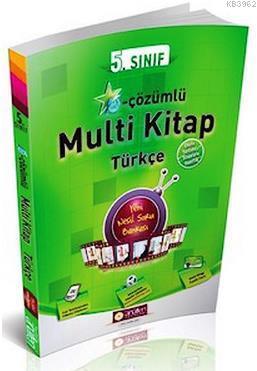 5. Sınıf Türkçe E-Çözümlü Multi Kitap