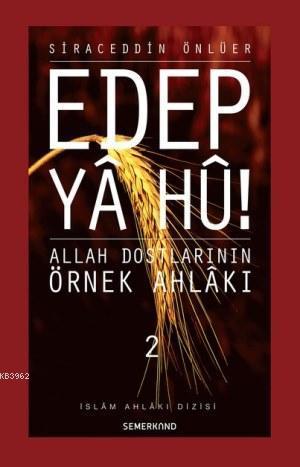 Edep Ya Hu (2.Cilt)