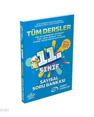 Murat Yayınları 11. Sınıf Tüm Dersler Sayısal Soru Bankası Murat