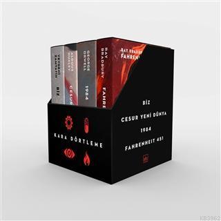 Kara Dörtleme Kutu Set (4 Kitap Takım)