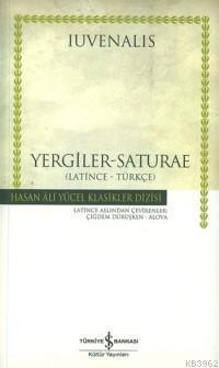 Yergiler - Saturae / Latince - Türkçe