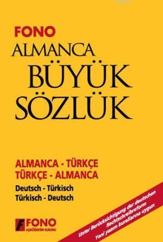 Almanca Büyük Sözlük (cd'li); Almanca-Türkçe / Türkçe-Almanca