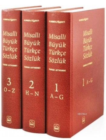 Misalli Büyük Türkçe Sözlük (3 Cilt)