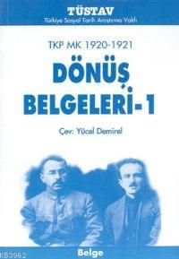 TKP MK 1920-1921 Dönüş Belgeleri-1