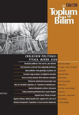 Toplum ve Bilim Sayı: 138-139